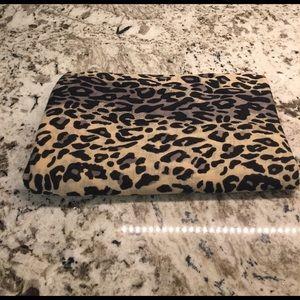 Leopard print scarf/wrap
