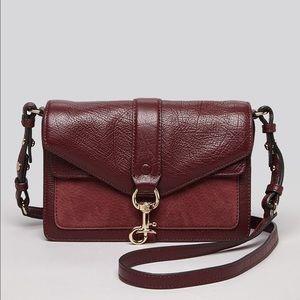 Rebecca Minkoff Handbags - Rebecca Minkoff Hudson Crossbody Bag Port Burgundy
