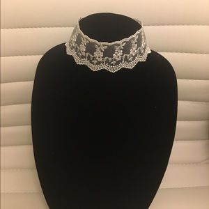 For Love and Lemons Jewelry - Lace choker