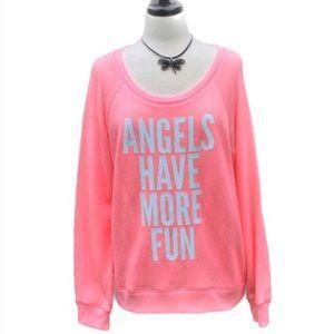Victoria's Secret Tops - 🌹HP 🆕 NWT Victoria's Secret Sweatshirt Top Large
