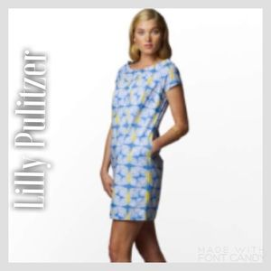 Lilly Pulitzer Dresses & Skirts - Lilly Pulitzer Blue/Yellow Sullivan Dress