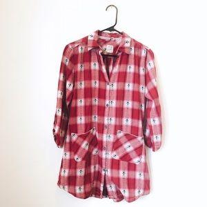 Lucky Brand Flannel Sleep Shirt