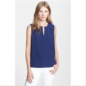 Kate spade navy blouse