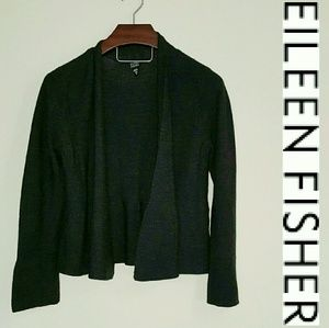 Eileen Fisher Tops - Eileen Fisher gray sweater duster! M
