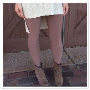 Infinity Raine Pants - ✨2 for 35 sale✨Mocha knit leggings OS