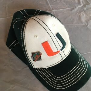 top of the world Other - University of Miami cap