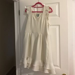 Anthropologie Dresses & Skirts - Maeve white Sunland dress by Anthropologie