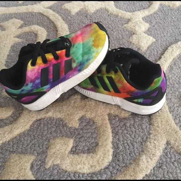 Toddler's Adidas Torsion shoes