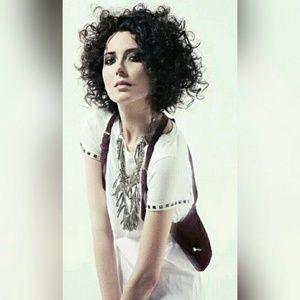 Zara Terez Handbags - ZARA TEREZ 14th Precinct Harness Bag Suede Leather