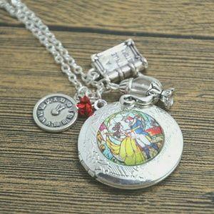Disney Jewelry - *LAST ONE!* Beauty And The Beast Locket