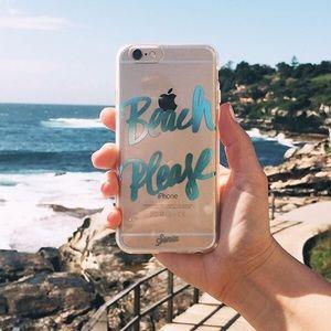 ☀️SONIX Beach Please Phone Case/iPhone 6/6s