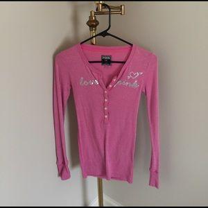 PINK Victoria's Secret Tops - 🌸 Victoria Secret long sleeve shirt🌸