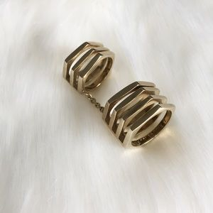 henri bendel Jewelry - [Henri Bendel] Double Stacked Ring