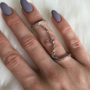 henri bendel Jewelry - [Henri Bendel] Delicate Double Layer Ring