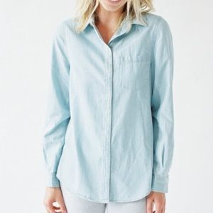 Tops - Washed Chambray Shirt