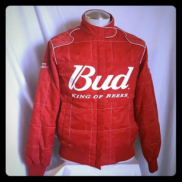 2fb858d4fbe84 Bud King Of Beers Dale Earnhardt Racing Jacket