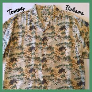 Tommy Bahama Other - TOMMY BAHAMA Silk Hawaiian Shirt 🌴 Palm Trees