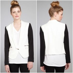 Nell Couture Jackets & Blazers - Nell Couture $215* Colorblock Tencel Blazer