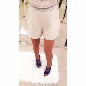 L'AGENCE Pants - ➡L'AT by L'Agence Silk High Waisted Shorts⬅