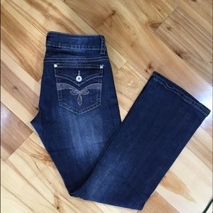 Stetson Denim - Stetson jeans Size 12. NWNT distressed bling!