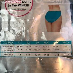 9eff33362bb The Best Fitting Panty Intimates & Sleepwear - 🆕 6 Pair Hi-Cuts Cotton  Stretch