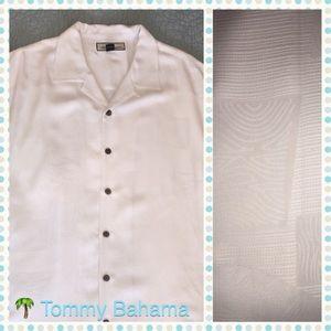Tommy Bahama Other - CCO Beach Wedding TOMMY BAHAMA Silk Textured Shirt
