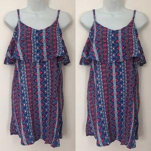 Rue 21 Tops - 🍍CLEARANCE🍍 Rue 21 Ruffle Aztec Tunic Dress