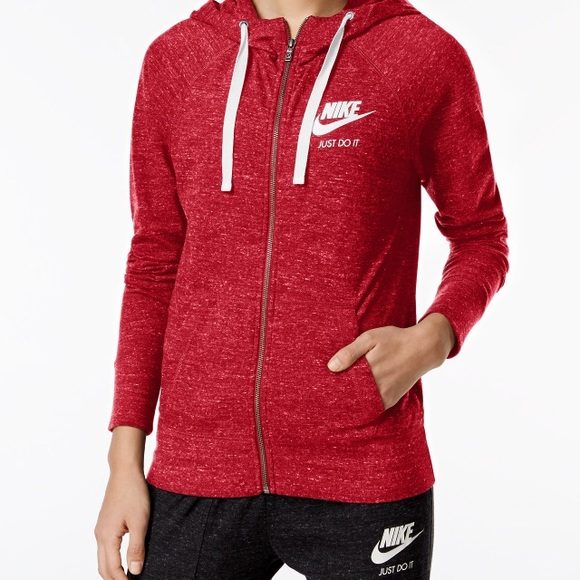 fe150fa8f0 Nike Tops | Gym Vintage Full Zip Hoodie | Poshmark