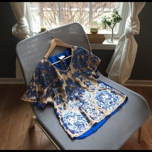 Tracy Reese Tops - NWT Target Neiman Tracy Reese Sequin Silk Blouse