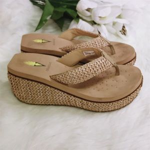 Volatile Shoes - Volatile | Woven Wedge Sandals