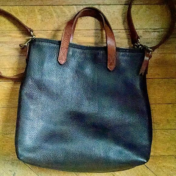 4ff0eea72230 Madewell Handbags - Madewell Mini Transport Crossbody Black   Brown