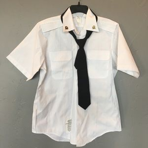 Other - army dress uniform shirt and tie