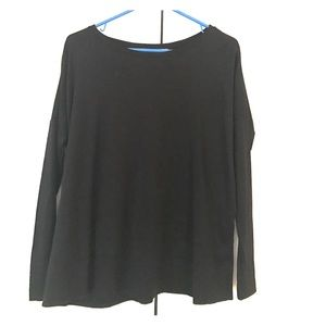 Loft Small Black long sleeve tee