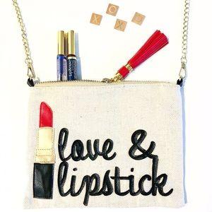 NWT Weekend Love long chain shoulder bag clutch