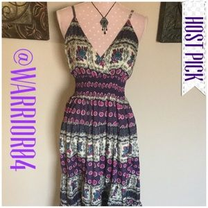 Moa Collection Dresses & Skirts - Moa Collection Pretty Purple Maxi Dress