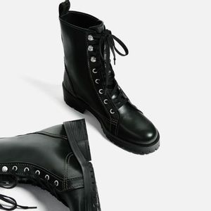 Zara Shoes - Military boots