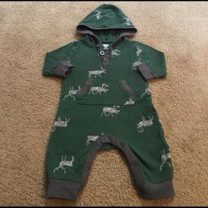 Old Navy Other - Old Navy Hooded Onesie 3-6 Months