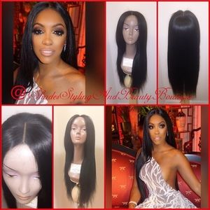 Accessories - Straight 100% Virgin Human Hair Wig