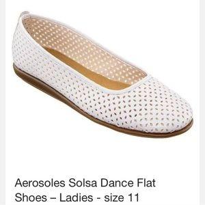AEROSOLES Shoes - White airy flats