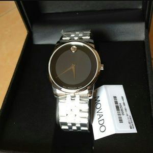 Movado  Other - NWT Movado Men's stainless steel watch