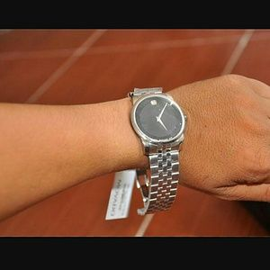 Movado Accessories - NWT Movado Men's stainless steel watch