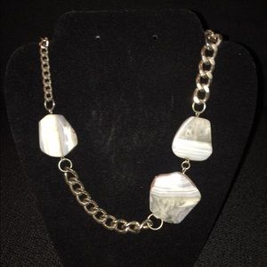 Jewelry - Rock and Chain Necklace