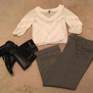 Sophie Max Tops - Sophie Max Sheer Blouse. Size Small
