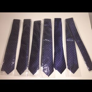 The Tie Bar Other - 6 new Silk Skinny ties from the Tie Bar