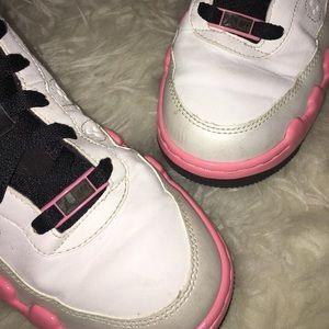 761af8abb13347 Jordan Shoes - Air Jordan Force IX (AJF9) GS-White Pink-DEAR