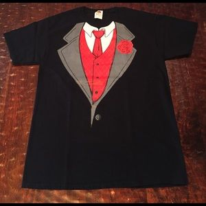 Fruit of the Loom Other - Fruit Of The Loom Tuxedo Graphic Tee