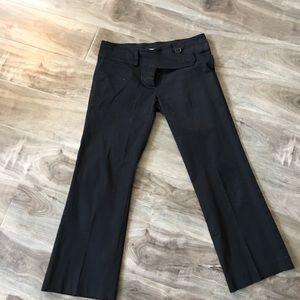 Black Crop Zara Pants