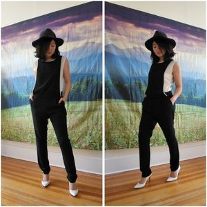 Didimax Pants - 🆕 Black Overlay Jumpsuit