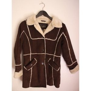 "Big Chill Jackets & Blazers - ""Big Chill"" Cozy Brown Coat"