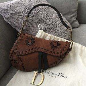 Authentic christian dior saddle bag!!!!